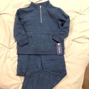 NWT Cherokee boys 3T pullover/pants set